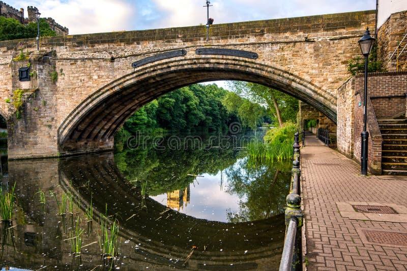 Pont Durham image libre de droits