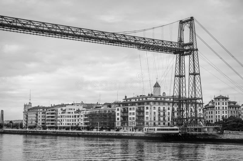 Pont en attendant de Portugalete images stock