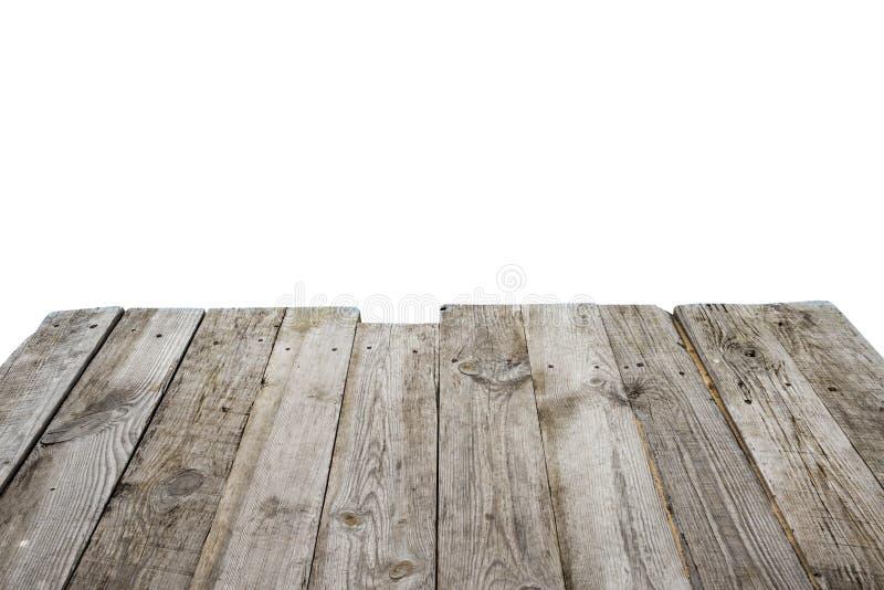 Pont en bois vide photographie stock