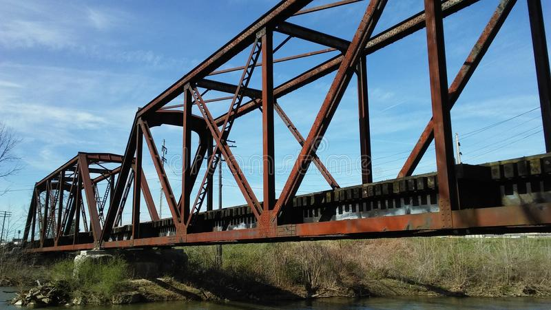Pont en chevalet photo libre de droits