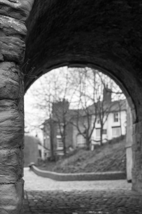 Pont en fer, Shropshire, Angleterre R-U photographie stock