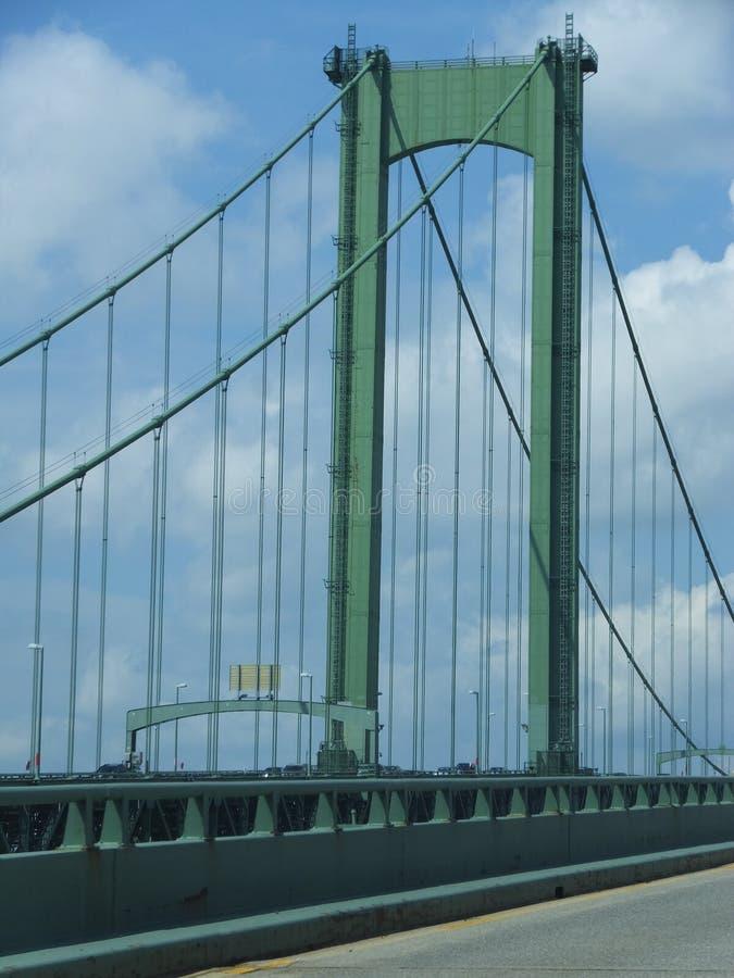 Pont en mémorial de Delaware image libre de droits