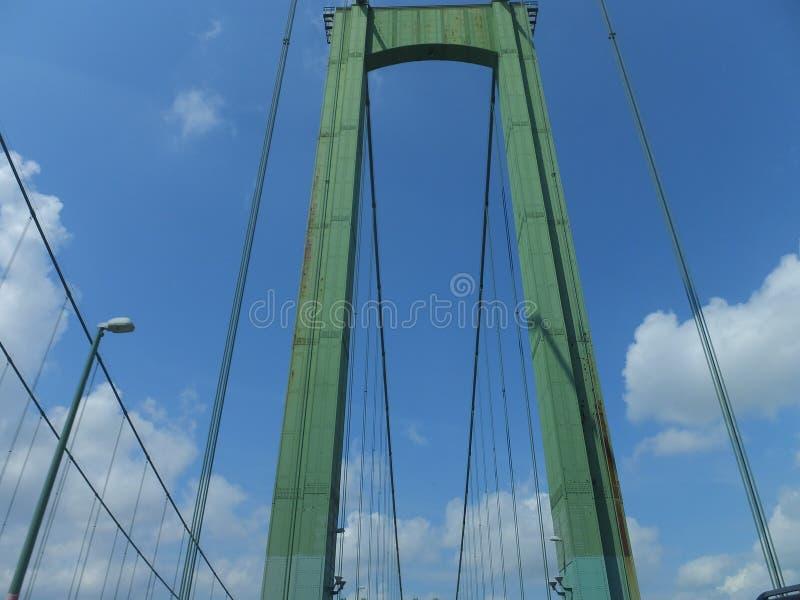 Pont en mémorial de Delaware image stock