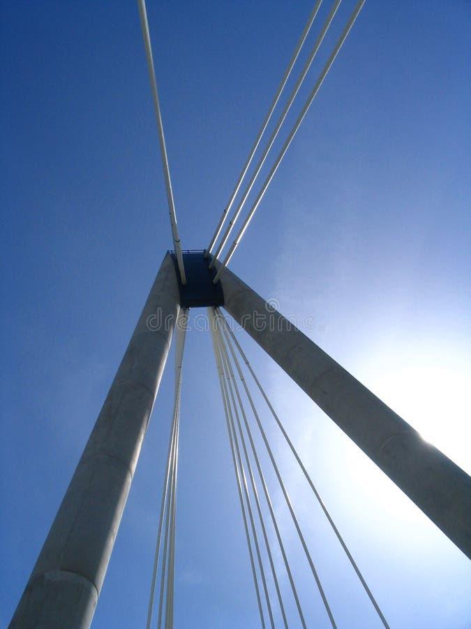 Pont en mémorial de Southport image libre de droits