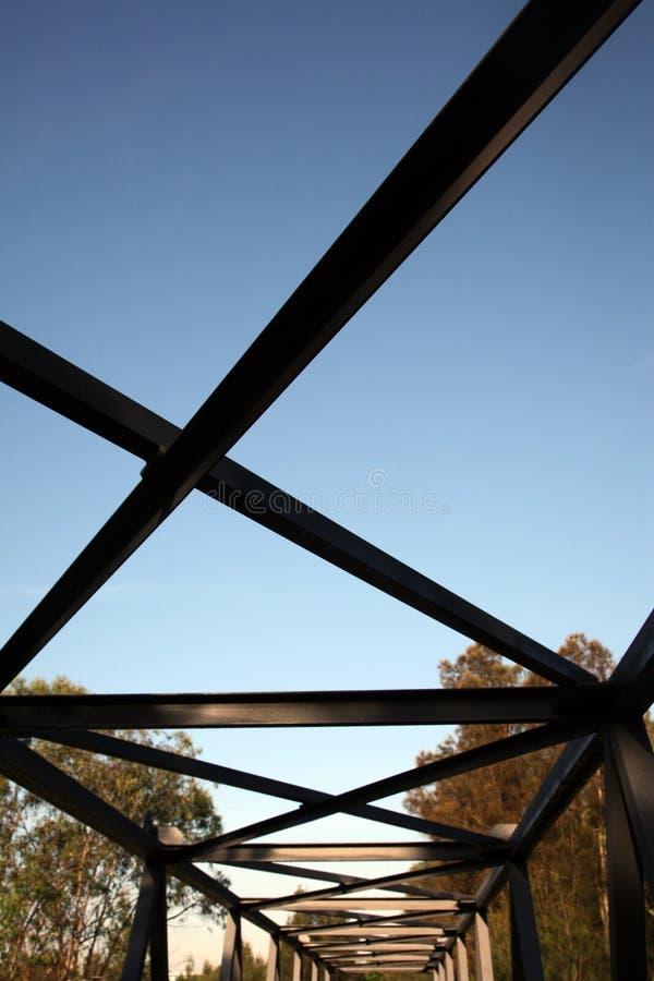 Pont en métal photos stock