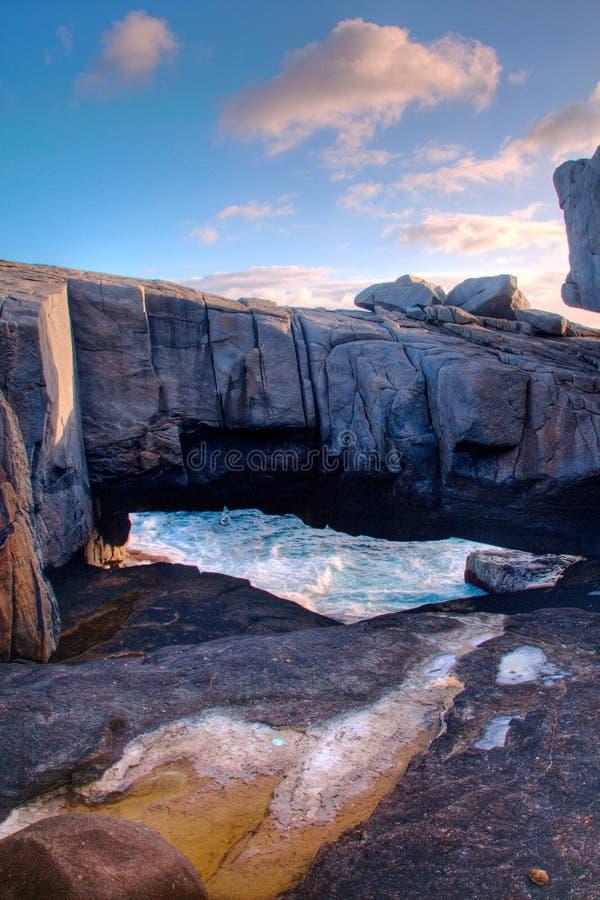 Pont en nature, Australie occidentale. photos stock