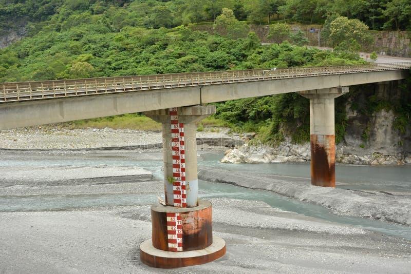 Pont en parc national de Taroko images stock