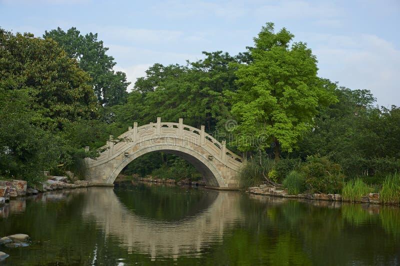 Pont en pierre de voûte photo libre de droits