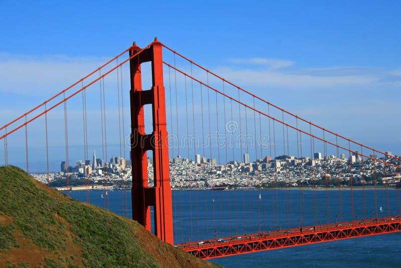 Pont en porte d'or photos libres de droits
