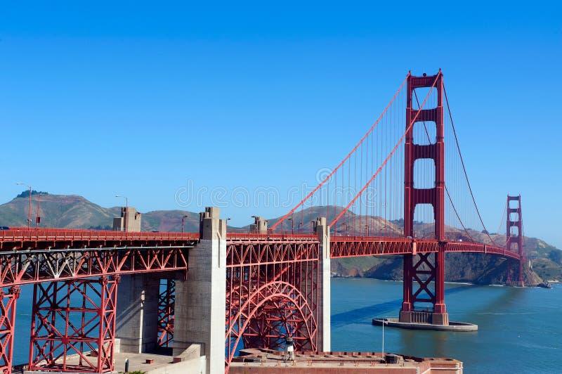 Pont en porte d'or, San Francisco image stock