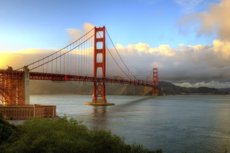 Pont en porte d'or, San Francisco, la Californie photos stock