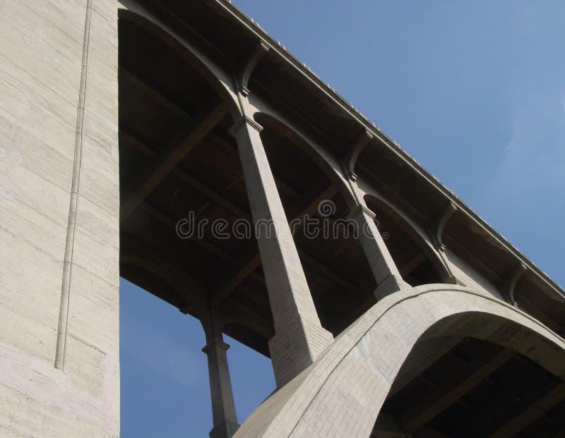 Pont en rue du Colorado photos libres de droits
