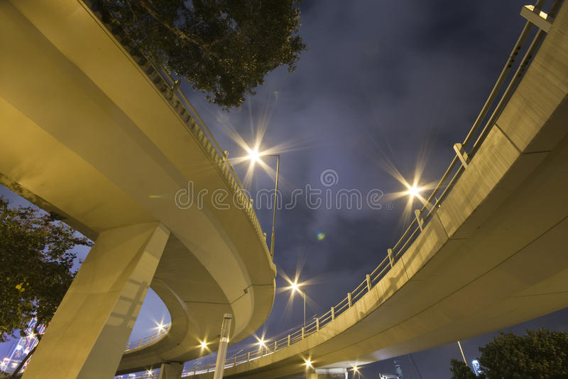 Pont en véhicule images libres de droits