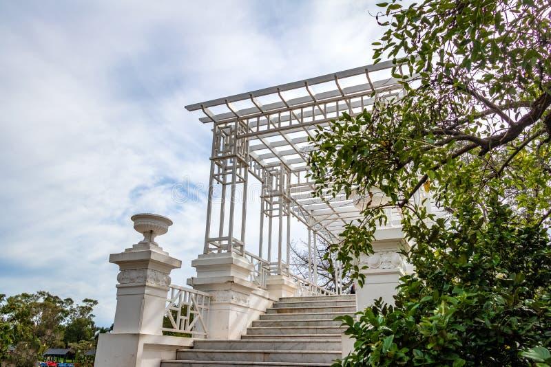 Pont grec chez Bosques De Palerme - Buenos Aires, Argentine image stock
