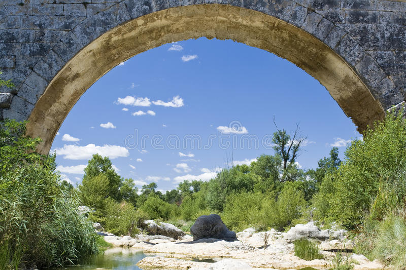 Download Pont Julien arch, provence stock photo. Image of provence - 21274846