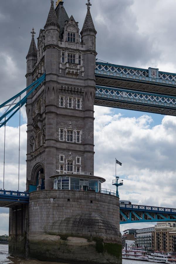 Pont-levis de pont de tour à Londres L'Angleterre et le Royaume-Uni photo libre de droits