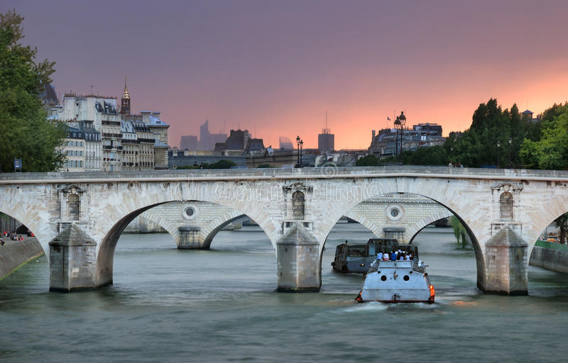 Download Pont Marie. Stock Image - Image: 27089411