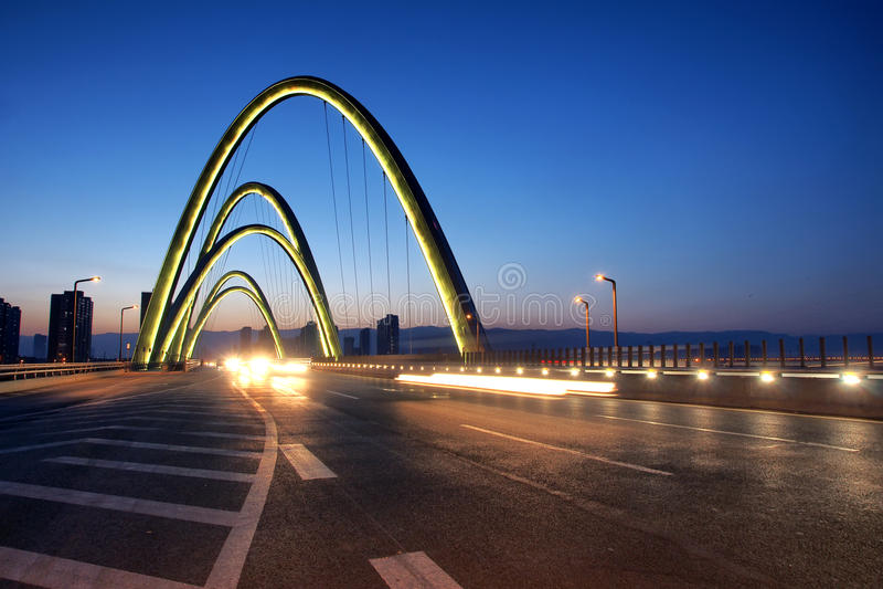 Pont moderne photographie stock