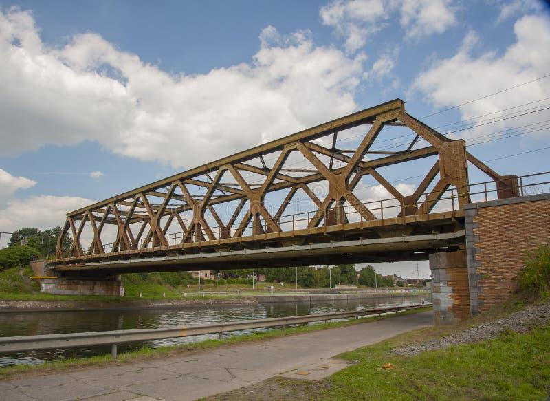 Pont Mons de Nimy photos libres de droits