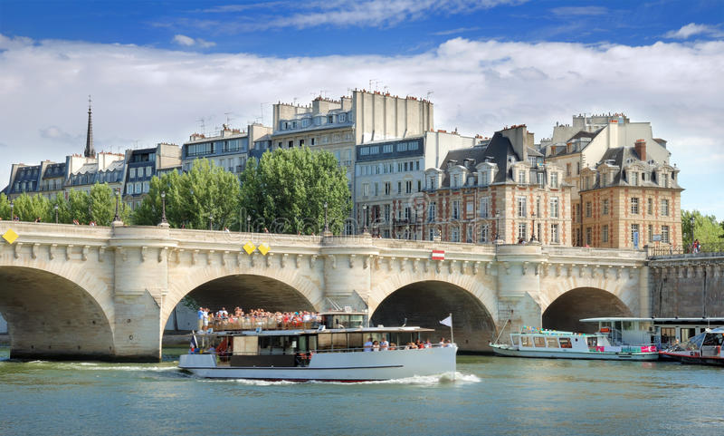 Download Pont Neuf. stock image. Image of cite, attraction, bridge - 26841697