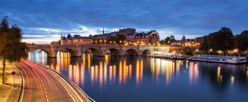 Pont Neuf, París, Francia fotografía de archivo libre de regalías