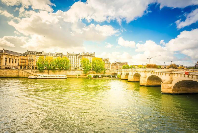 Pont Neuf, Paris, France stock photography