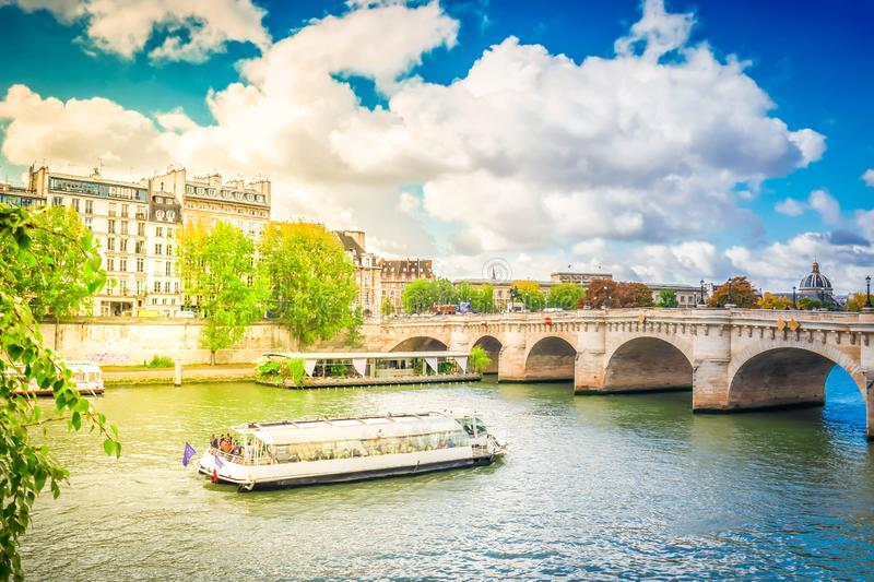 Pont Neuf, Paris, France royalty free stock photo