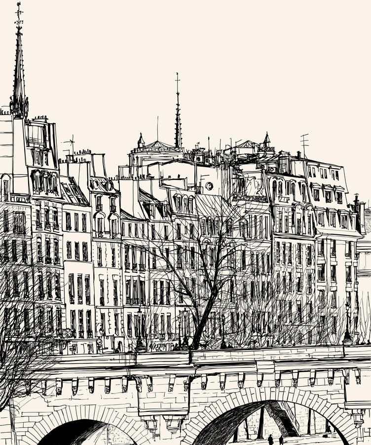 Pont Neuf In Paris Royalty Free Stock Images