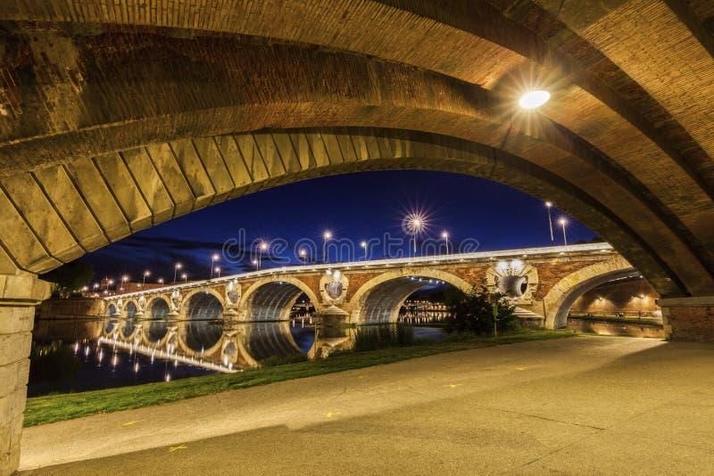 Pont Neuf in Toulouse stockfoto