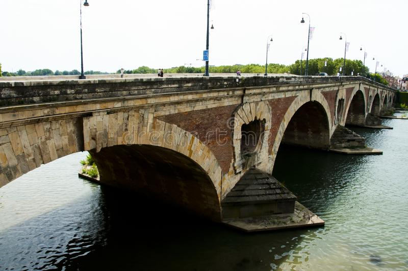 Pont Neuf - Toulouse - Frances photos stock