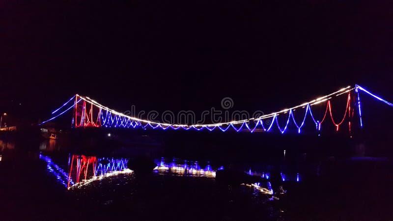 Pont nusa lembongan photographie stock libre de droits