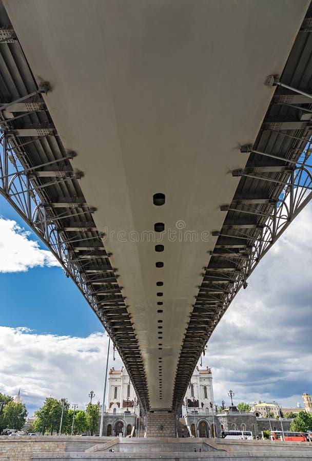 Pont patriarcal de dessous, Moscou photos libres de droits