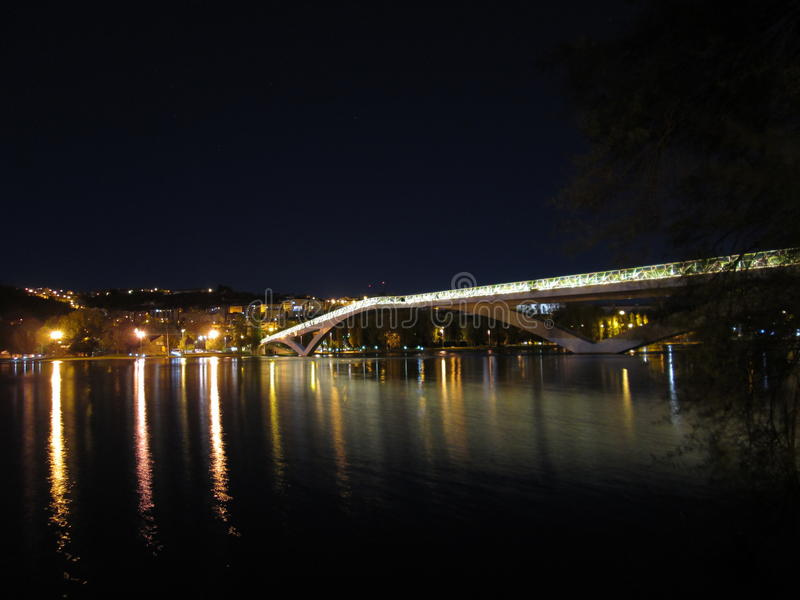 Pont Pedro e Inês photo stock