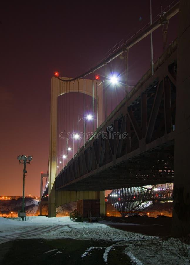Pont Pierre Laporte imagem de stock royalty free