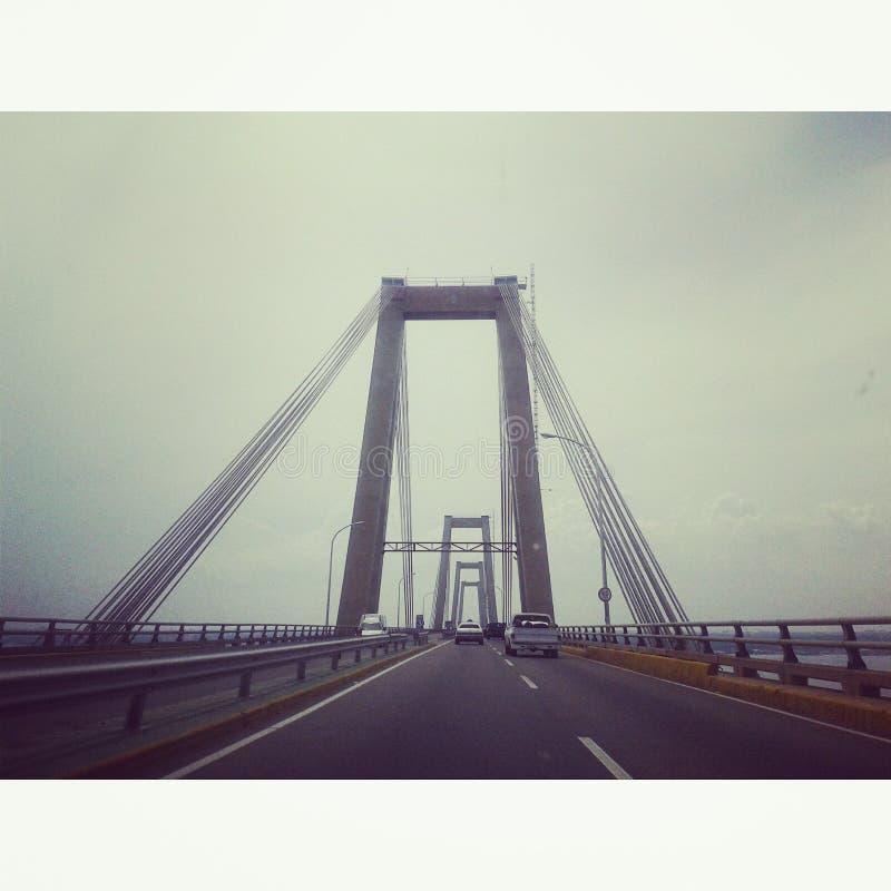 Pont, Rafael Urdaneta photographie stock libre de droits
