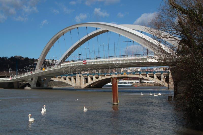 Pont Raymond Barre fotografia de stock
