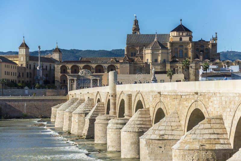 Pont Romain A Cordoue Andalousie Espagne Du Sud