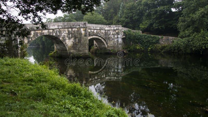 Pont romain de brandomil images libres de droits