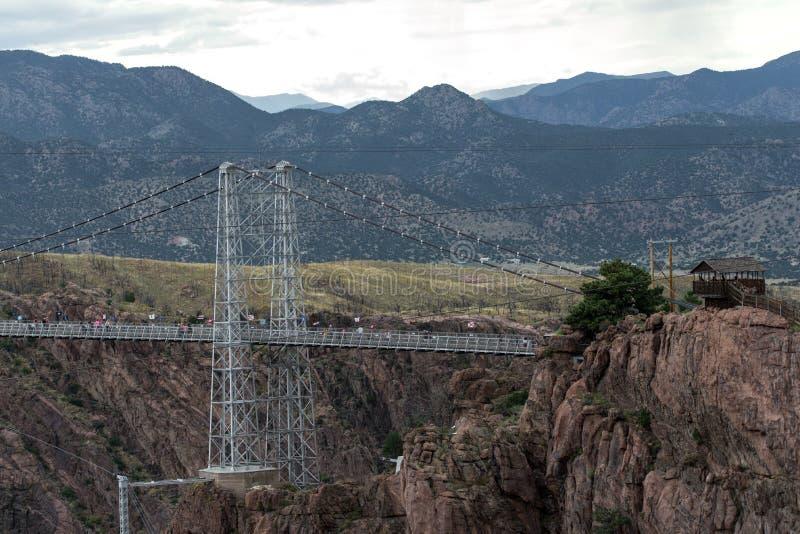 Pont royal le Colorado de gorge image stock