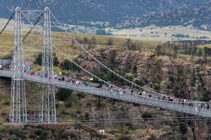 Pont royal le Colorado de gorge photographie stock