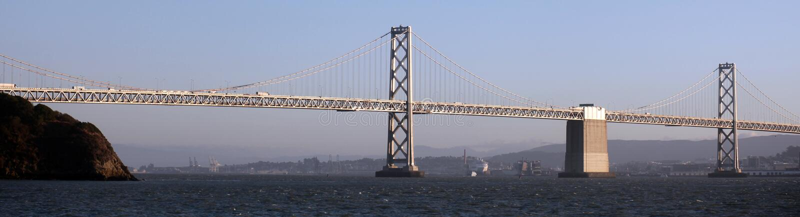 Pont, San Francisco et Oakland de baie photos stock