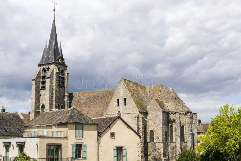Pont-sur-Yonne Stock Photo