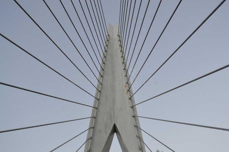Pont suspendu Amsterdam images stock
