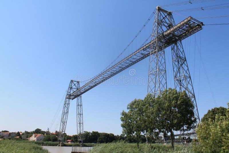 Pont transbordeur de Rochefort (法国) 库存图片