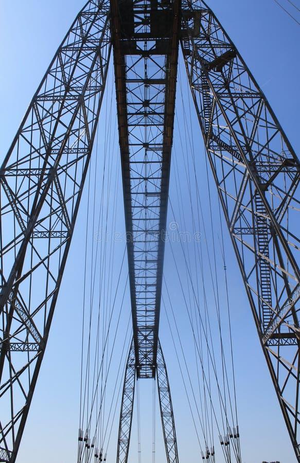 Pont transbordeur de Rochefort (法国) 图库摄影