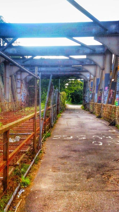 Pont urbain de Bristol image libre de droits