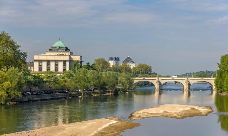 Pont Wilson dans les visites - Frances image libre de droits
