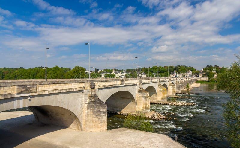 Pont Wilson dans les visites - Frances photographie stock