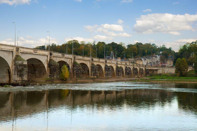 Pont Wilson, visites, Frances photographie stock