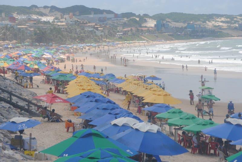 Ponta内格拉海滩 免版税库存照片